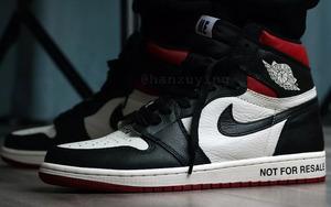 """上脚颜值不俗!这款红色版本 Air Jordan 1 """"No L's"""" 年底发售!"""