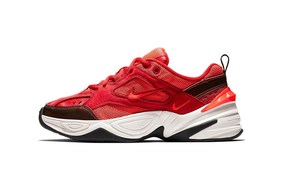 """抢先预览! Nike M2K Tekno 全新""""Red Suede""""配色"""