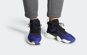 再释新配色!全新 adidas Crazy BYW 黑蓝即将发售!