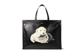 Balenciaga 全新动物图案 Tote Bag 上架