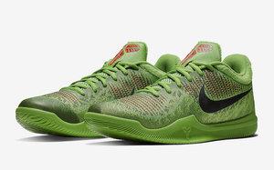 "酷似经典圣诞配色!Nike Mamba Rage ""Grinch"" 即将发售!"