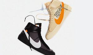 日期叒改了!Virgil Abloh x NikeLab Blazer Mid 推迟至下个月发售