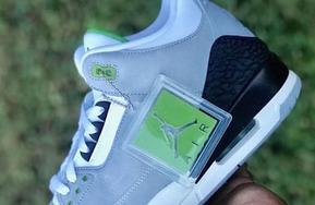 """前后细节曝光!Air Jordan 3 """"Chlorophyll"""" 十月来袭!"""