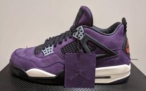 超限量1,000双!这款紫色亲友版 Travis Scott x AJ4 可望不可即!