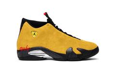 """发售日期确定!Air Jordan 14 """"Reverse Ferrari"""" 明年发售!"""