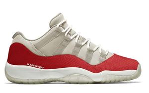 定檔 6 月!紅色蛇皮 Air Jordan 11 Low SE 明年正式發售!