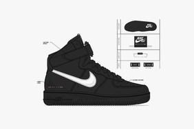 1017 ALYX 9SM x Nike 全新联名 SF-AF1 Mid 系列设计图公开