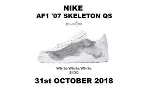 这双夜光鞋底的 AF1 将于万圣节期间发售