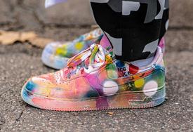 巴黎時裝周潮人上腳球鞋一覽
