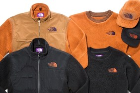 The North Face Purple Label x BEAUTY & YOUTH 全新聯名 Fleece 別注系列