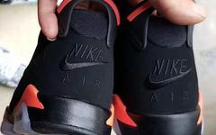 "GS 版本谍照释出!Air Jordan 6 ""Black Infrared"" 明年发售!"
