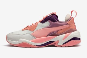 "Puma Thunder Spectra 帶來粉色""老爹鞋"""