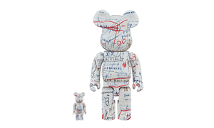 MEDICOM TOY 發布全新 Jean-Michel Basquiat BE@RBRICK