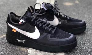 Virgil Abloh x Nike Air Force 1 黑色谍照曝光