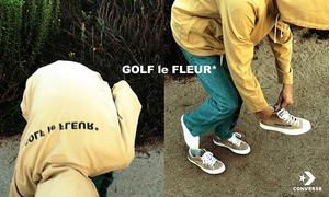 GOLF le FLEUR* x CONVERSE 全新联名系列释出