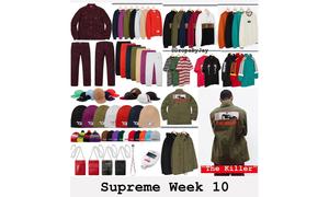 Supreme 2018 秋冬第 10 周發售單品一覽