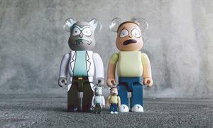 "BAIT 發布 ""Rick and Morty"" 主題 BE@RBRICK"