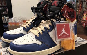 現貨 $1,500 刀!Union x Air Jordan 1 釋出實物細節圖片!