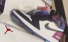 粉紫渐变美如画!Jordan 为设计师送出专属配色 AJ1!