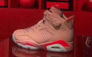 甜美粉嫩风格!Aleali May x Air Jordan 6 明年正式来袭!