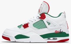 还有白色 Gucci?明年 Air Jordan 4 新品首次曝光!