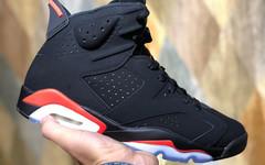 """历史经典配色!全新 Air Jordan 6 """"Black Infrared""""  明年回归"""