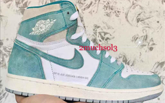 "小清新配色!湖水绿 Air Jordan 1 ""Turbo Green""  明年上架"