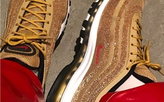 超奢华!Nike Air Max 97 全新 Swarovski 水晶定制版本