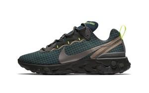 """抢先预览!全新 Nike React Element 55 """"Dark Green"""" 即将发布"""