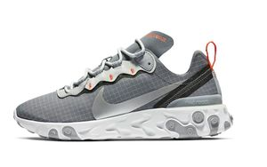 Nike React Element 55 释出全新灰色版本