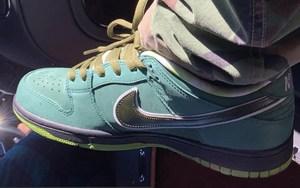 Travis Scott 曝光 CONCEPTS x Nike SB Dunk Low 超限量「Green Lobster」版本