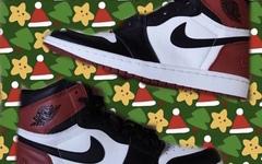 "fragment design x Air Jordan I ""黑脚趾"" 配色可能在2019年发布"