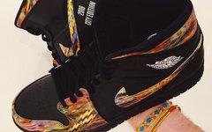 """致敬 The Notorious B.I.G. !这款 Air Jordan 1 """"Nets"""" 限量5双"""