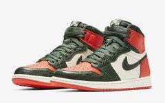 会再发售吗?Nike 释出 SoleFly x Air Jordan 1 官图