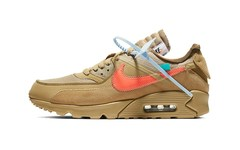 十分抢眼!Off-White™ x Nike Air Max 90「Desert Ore」即将发售