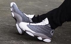 """上脚效果极佳!这款Air Jordan13 """"大气层灰""""你还能忍住不盘吗?"""