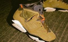 再度推出联名鞋款!Travis Scott x Air Jordan 6 将于今年登场