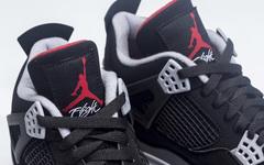 实物效果怎么样?Air Jordan 4 Bred 将在5月发售!