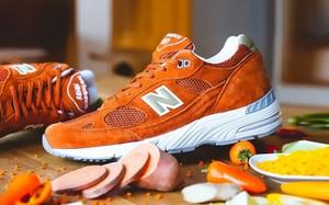 让人心动无比的鲜橙色!New Balance M991 全新配色上架