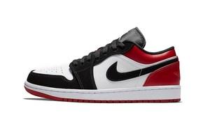 黑脚趾配色来袭!全新 Air Jordan 1 Low 你喜欢吗?