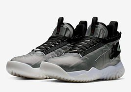 造型机能!全新鞋款 Jordan Proto React 银灰配色即将登场