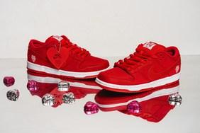 最近的话题之作!Girls Don't Cry x Nike SB Dunk Low 细节近赏
