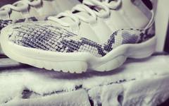 在下斯内克!白蛇 Air Jordan 11 Low 实物图曝光!
