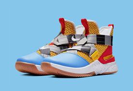 """《玩具总动?#34180;?#25110;?#19978;?#21015;?Nike LeBron Soldier 12 """"伍迪""""配色发售"""