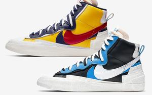 好设计都成双?Sacai x Nike Blazer Mid 四月登场