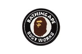 """经典猿人头地毯复刻归来!A BATHING APE® 2019 """"Busy Works Store"""" 别注系列登场"""