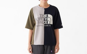 不对称拼接风!THE NORTH FACE PURPLE LABEL 带来全新 Asymmetry Logo Tee