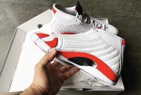 不做減配!Air Jordan 14 白紅配色下月正式發售