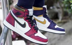 湖人芝加哥混搭上脚!这双Nike Dunk SB x AJ1真心不一般