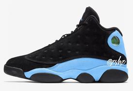 北卡蓝+麂皮鞋面,Air Jordan 13 全新配色即将发售